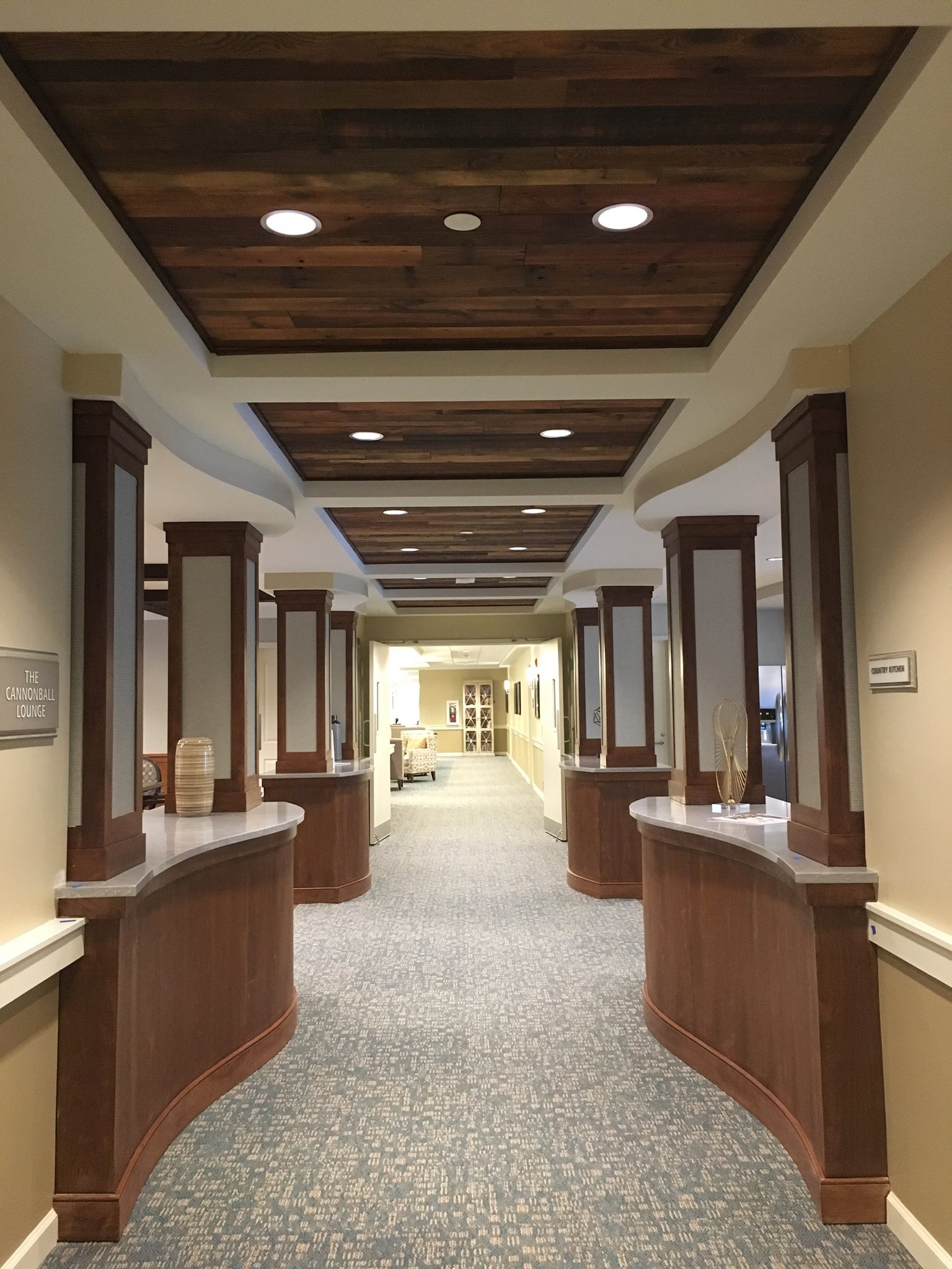 Whitney Place Assisted Living Residences, Sharon MA - Firm: Currier & Associates / Wellesley Design Consultants