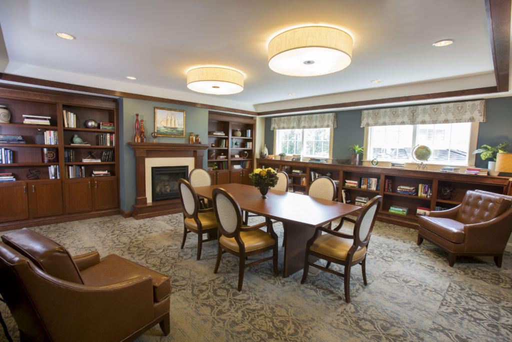 Cornerstone Assisted Living and Compass Memory Support Community, Canton MA - Firm: Currier & Associates